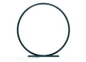 Lampe à poser en bois peint Bleu canard - 25, 30, 60 ou 70 cm