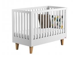 Lit bébé Lounge Blanc - 60 x 120 cm