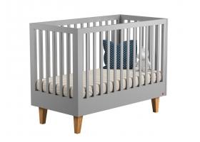Lit bébé Lounge Gris - 60 x 120 cm