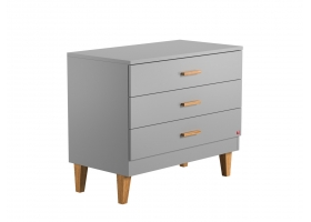 Dresser With Changing Table Lounge grey
