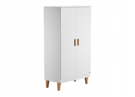 2-DOOR WARDROBE Lounge - White