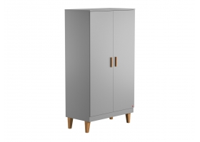 2-DOOR WARDROBE Lounge - Grey