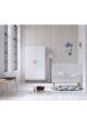 Lit bébé Lounge Blanc - 70 x 140 cm