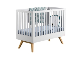 Baby Bed 60 x 120 cm - Nature white