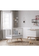 Baby Bed 70 x 140 cm - Nature white