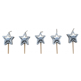 Candles ~Candles silver stars~
