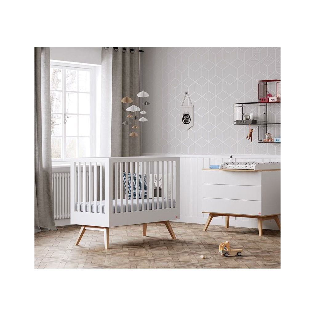 Dresser Nature white With optional Changing Table by Vox