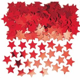 Confetti ~Stars red~