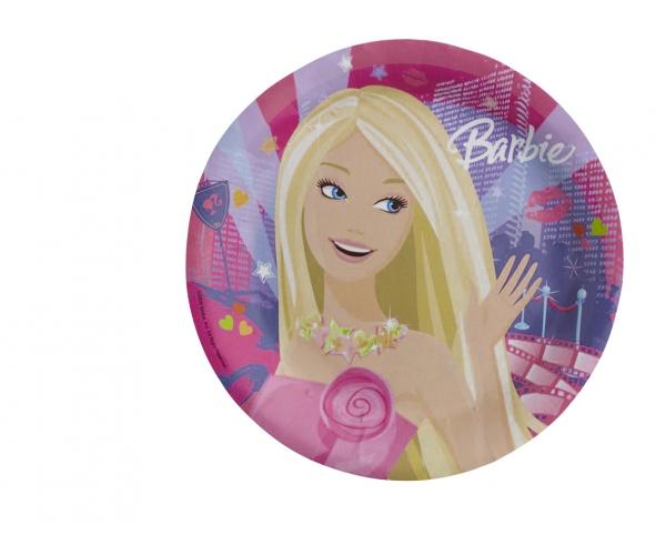 Barbie ~Set de 8 assiettes~