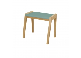 "Stool ""My great pupitre"" - Green oak"
