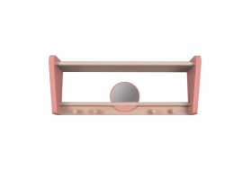 "Shelf ""My Little Boudoir"" - Pink oak"