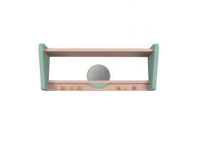 "Shelf ""My Little Boudoir"" - Green oak"