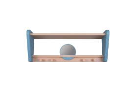 "Shelf ""My Little Boudoir"" - Blue oak"