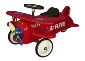 Toys - Protocol Red Biplane Metal