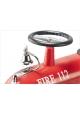 Voiture porteur Camion de pompiers rouge