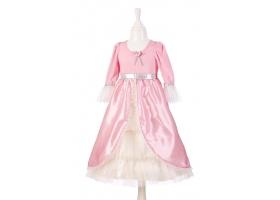 Robe de Princesse rose et argent