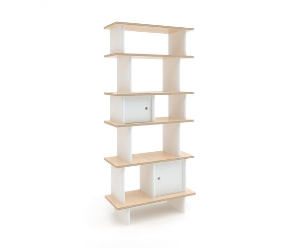 Bibliothèque Mini Librairie Verticale Bouleau