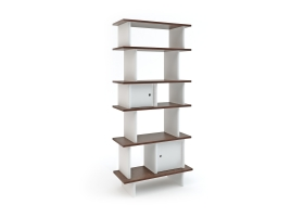 Mini Bookshelf by Oeuf NYC - Walnut