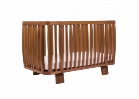 Baby Bed Crib RETRO 70 x 140 cm - Oak