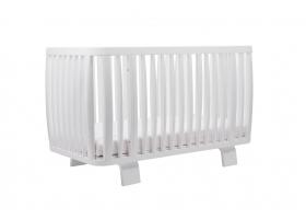 Lit bébé évolutif RETRO 70 x 140 cm - Blanc