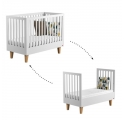 Baby Bed 70 x 140 cm - Lounge white