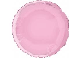 Ballon Mylar ~Rond rose~