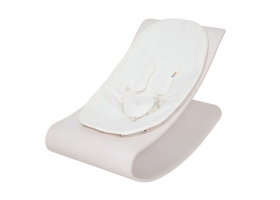 Coco stylewood lounger White - White Cushion