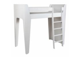 Lit mezzanine KETARA 80 x 160 cm - Blanc