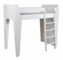 Ketara Loft Bed by LUMOKIDS - 80 x 200 cm - White