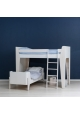 Ketara Loft Bed by LUMOKIDS - 80 x 160 cm - White