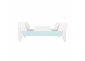 Korento Toddler Bed by LUMOKIDS - 70 x 160 cm - Turquoise