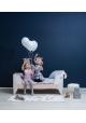 Korento Toddler Bed by LUMOKIDS - 70 x 200 cm - Pink