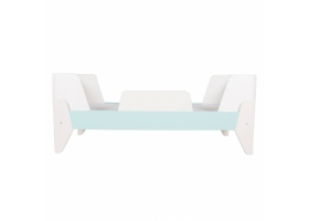 Korento Toddler Bed by LUMOKIDS - 70 x 200 cm - Turquoise