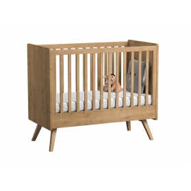 Baby Bed 60 x 120 cm - Vintage natural