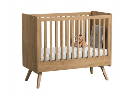 Baby Bed 60 x 120 cm - Vintage natural