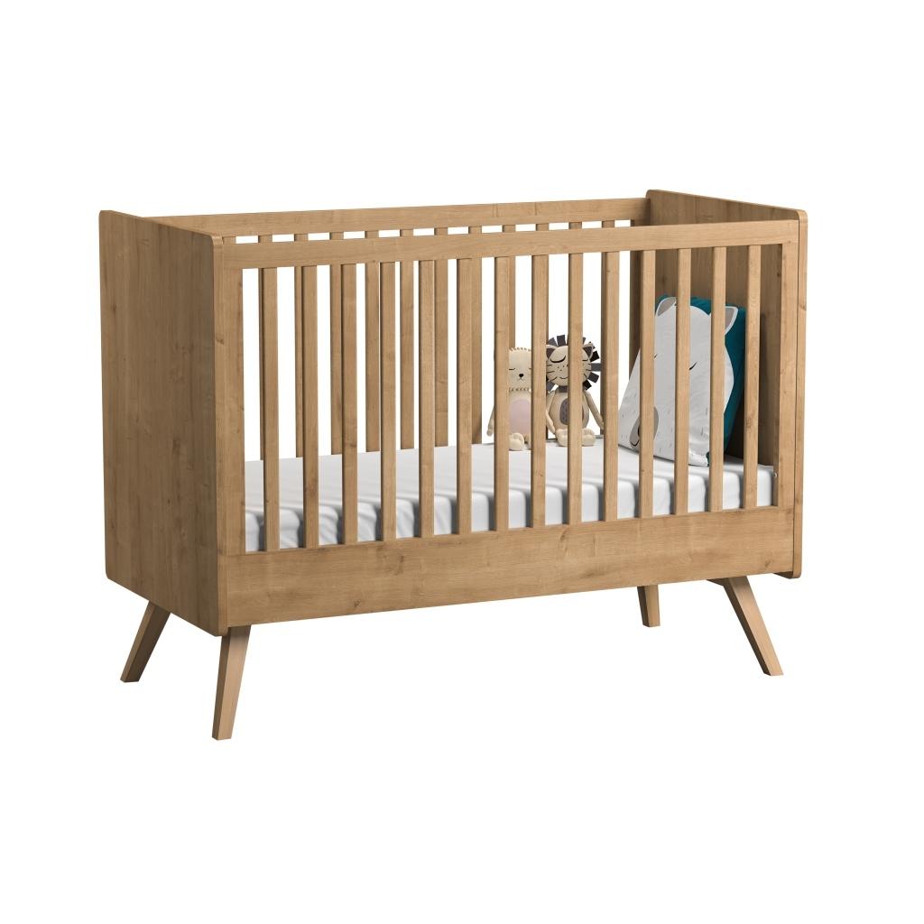 Lit Bebe Cabane Evolutif lit bébé évolutif vintage en bois de la marque vox