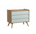 Dresser With Changing Table Vintage green