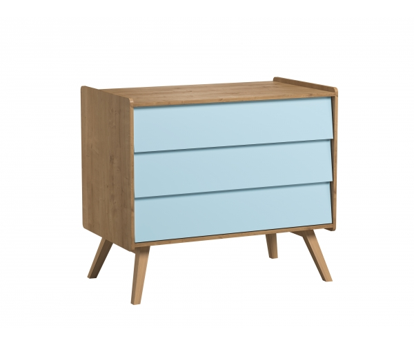 Dresser Vintage Blue With Optional Changing Table By Vox