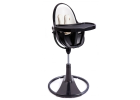 High Chair Fresco - Chrome Black