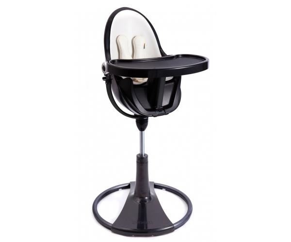 Chaise haute évolutive FRESCO avec Starter Kit Chrome Noir