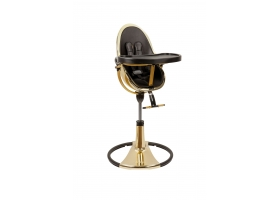 Chaise haute évolutive FRESCO - Chrome Gold