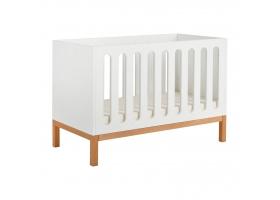 Lit bébé Indigo Blanc - 60 x 120 cm