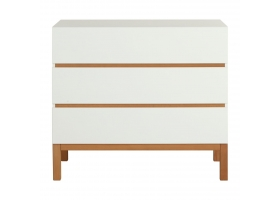 Dresser with changing table in white - Indigo by Quax