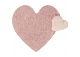 Washable rug Puffy love nude