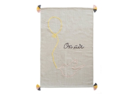 Tapis Varanassi Family Spirit en coton - On air