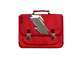School Bag ~Small Red Satchel Super hero~