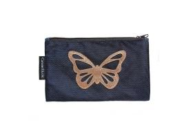 Trousse Papillon bleu