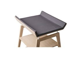 Changing mat cover for Linéa changing mat Charcoal grey