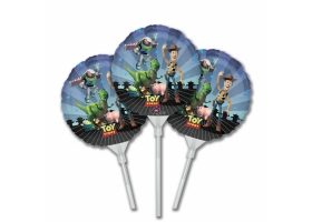 Toy Story ~Set de 3 mini-ballons sur tige~