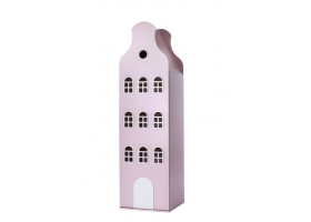 Wardrobe Amsterdam bell roof - Pink